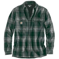 XXL Carhartt 102333 Mens Hubbard Sherpa Lined Flannel Shirt/