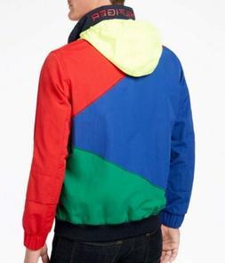 🔥$120 Men's Tommy Hilfiger Colorblocked Hooded Regatta