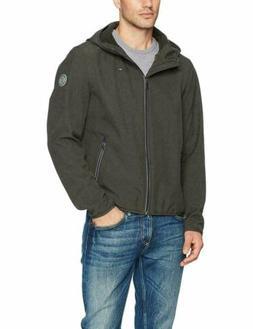 $160 Tommy Hilfiger Men's Hooded Soft Shell Jacket Large Ful