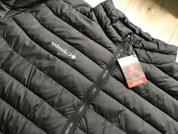 $160 New Men's Columbia Powder Lite Jacket Black 4XL Tall