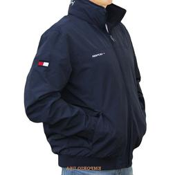 TOMMY HILFIGER Men's Yacht Jacket Water Stop Windbreaker Col
