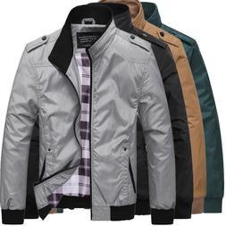 2019 Men's Slim collar jackets fashion jacket Tops Casual co