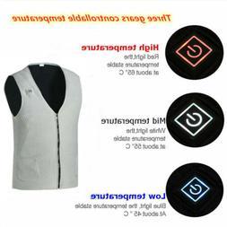 3 Mode Rechargeable Heating Vest Men's Winter Keep Warmer He