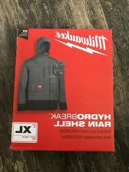 Milwaukee 310G-XL Hydrobreak Rain Shell Jacket Men's XL or X