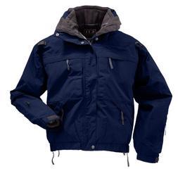 5.11 Men's 5-in-1 Jacket, Dark Navy, Medium Tall
