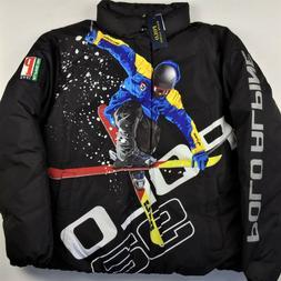 $698 Polo Ralph Lauren Men Ski 92 Skier Alpine Down Puffer J