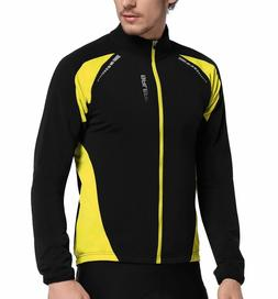 Baleaf Men's Full Zip Long Sleeve Thermal Cycling Jersey Win