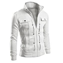 Coat Men, TurningPo Fashion Men Slim Designed Lapel Cardigan