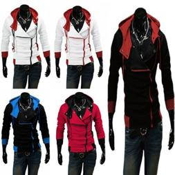 Men Stylish Creed Hoodie Coat Cosplay For Assassins Jacket C