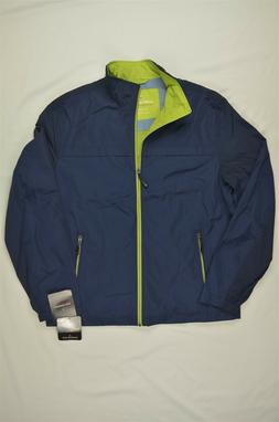 NEW MEN'S London Fog B&T Updated Packable Windbreak Jacket s