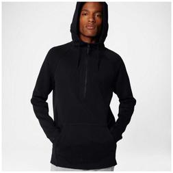 NIKE TECH FLEECE 1/2 ZIP HOODIE BLACK 884892-010 MEN'S SIZE
