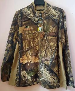 NWT LightWeight Mossy Oak Men's Fleece Camo FullZip Jacket B