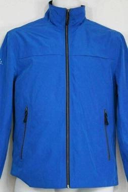 New London Fog Mens Updated Packable Windbreaker Jacket Blue