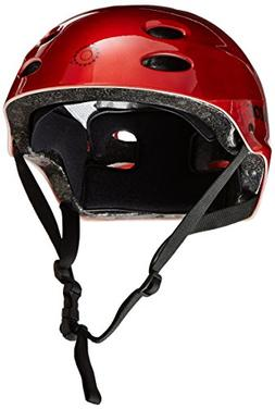 Razor V-17 Youth Multi-Sport Helmet, Lucid Red