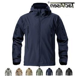 TACVASEN Waterproof Outdoor Mens Jackets Coats Safari Expedi