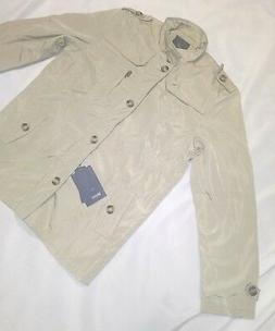 Wantdo Men'S  Lightweight Front Zip Jacket Us XXL Khaki