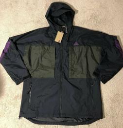Nike ACG Anorak Parka Full Zip Jacket AQ2294-010 Black / Oli
