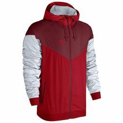 Nike Air Sportswear Windrunner Windbreaker Track Red Jacket