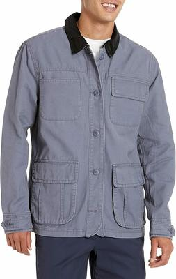 Goodthreads Amazon Men's Barncoat, Slate Grey, Large Tall, N