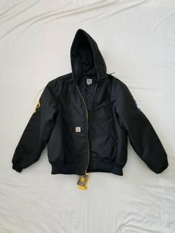 Carhartt Men's Arctic Quilt Lined Yukon Active Jacket,Black,
