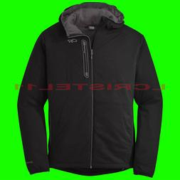 NEW - OUTDOOR RESEARCH MEN'S ASCENDANT HOODY Jacket - LARGE