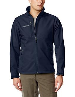 Columbia Men's Ascender Softshell Jacket, Collegiate Navy, S