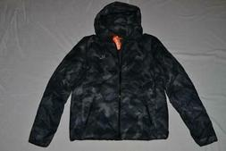 authentic mens echo quilt puffer jacket navy