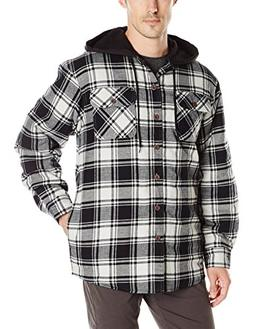 Wrangler Authentics Men's Long Sleeve Quilted Lined Flanne