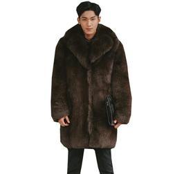 Autumn faux mink leather <font><b>jacket</b></font> <font><b