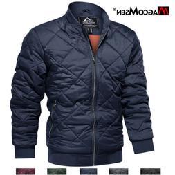 Autumn Thicken Bomber Jackets Mens Soft Baseball Jacket Coat