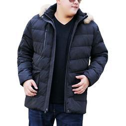 MFERLIER Autumn Winter thick <font><b>jackets</b></font> 6XL