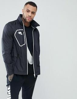 Nike AV15 Advance Woven lightweight jacket with built in hoo