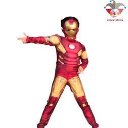 Avenger Role-Playing Iron Man Costume Fancy Dress Costumes F