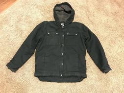 Carhartt Bartlett Sherpa-Lined Jacket Black Medium Med