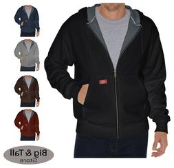 Dickies Big & Tall Thermal-Lined Hooded Zip Fleece Jacket 2X