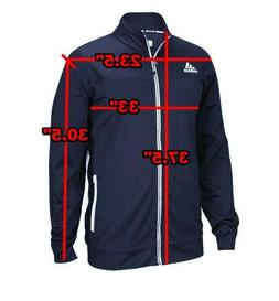 Adidas Big And Tall Utility Track Jacket Navy Climalite  Men