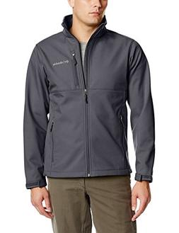 Columbia Men's Big & Tall Ascender Softshell Jacket, Graphit