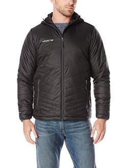 Columbia Men's Mighty Light Hooded Jacket, Dark Moss, XX-Lar