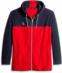 Nautica Men's Big and Tall Blocked Nautex Full-Zip Jacket Sw