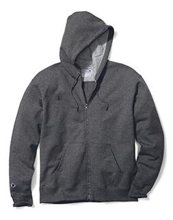 Champion Big & Tall Men's Zip Fleece Hoodie Charcoal 4XLT