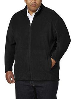 Amazon Essentials Men's Big and Tall Full-Zip Polar Fleece J