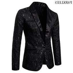 black jacquard bronzing floral blazer font b