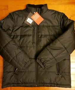 ZEROXPOSUR Black ThermoCloud Quilted Puffer Full Zip Jacket