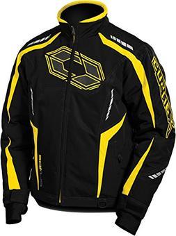blade g3 mens snowmobile jacket yellow lrg