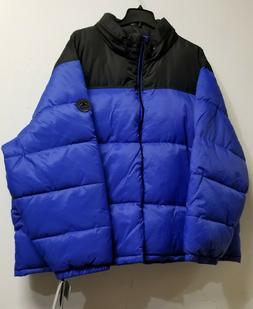 HFX Blue Black Big and Tall Parka Winter Coat Ski Jacket 5X