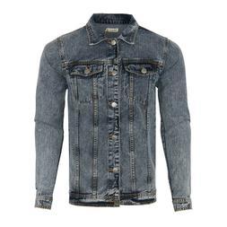 Blue Jean Denim Jacket Men's Size