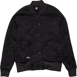 Element Men's Bomber Fleece, Black, Medium