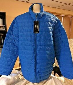 C9 Champion Men's size S Down filled Puffer Jacket Blue