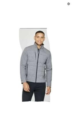 C9 Champion Men's Softshell Jacket Gray Size Medium NEW Zip