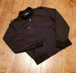 Members Only Cafe Racer black jacket mens medium 90's new st